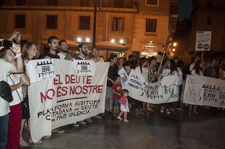 Manifestación Pobreza Zero