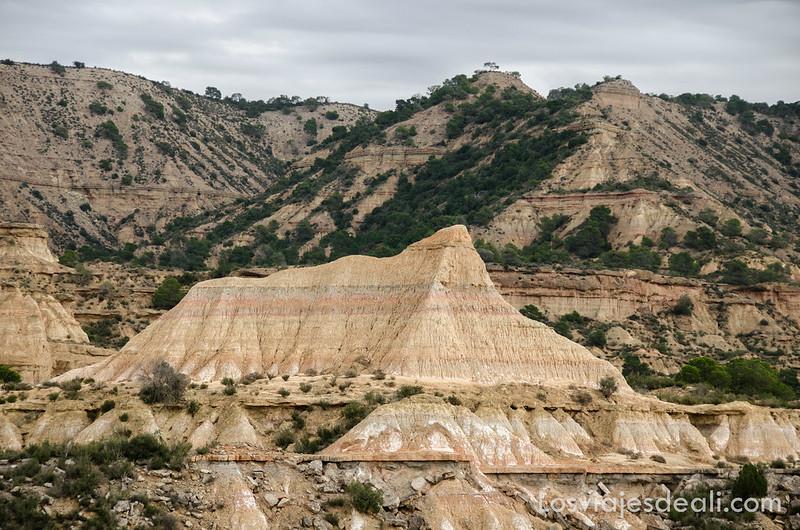 tozal de los pedregales en los Monegros