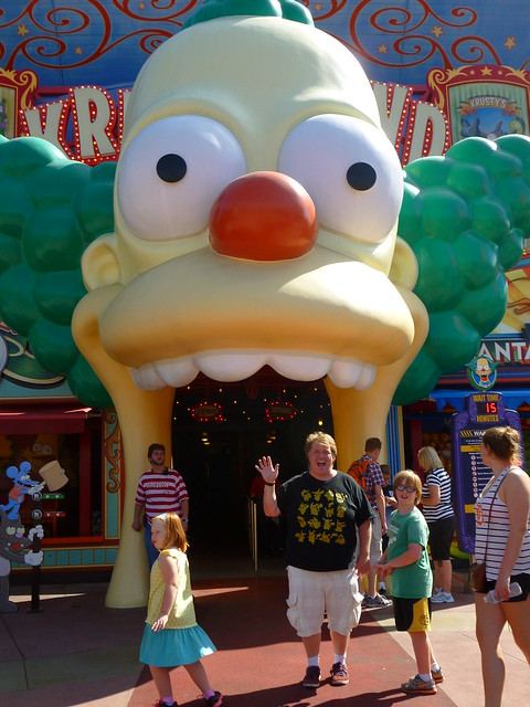 Step right into the giant clown's mouth