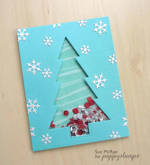 Sue McRae Shaker Card