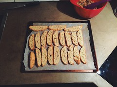almond rosemary biscotti