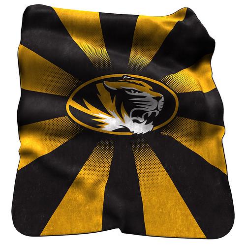 Missouri Tigers NCAA Raschel Blanket