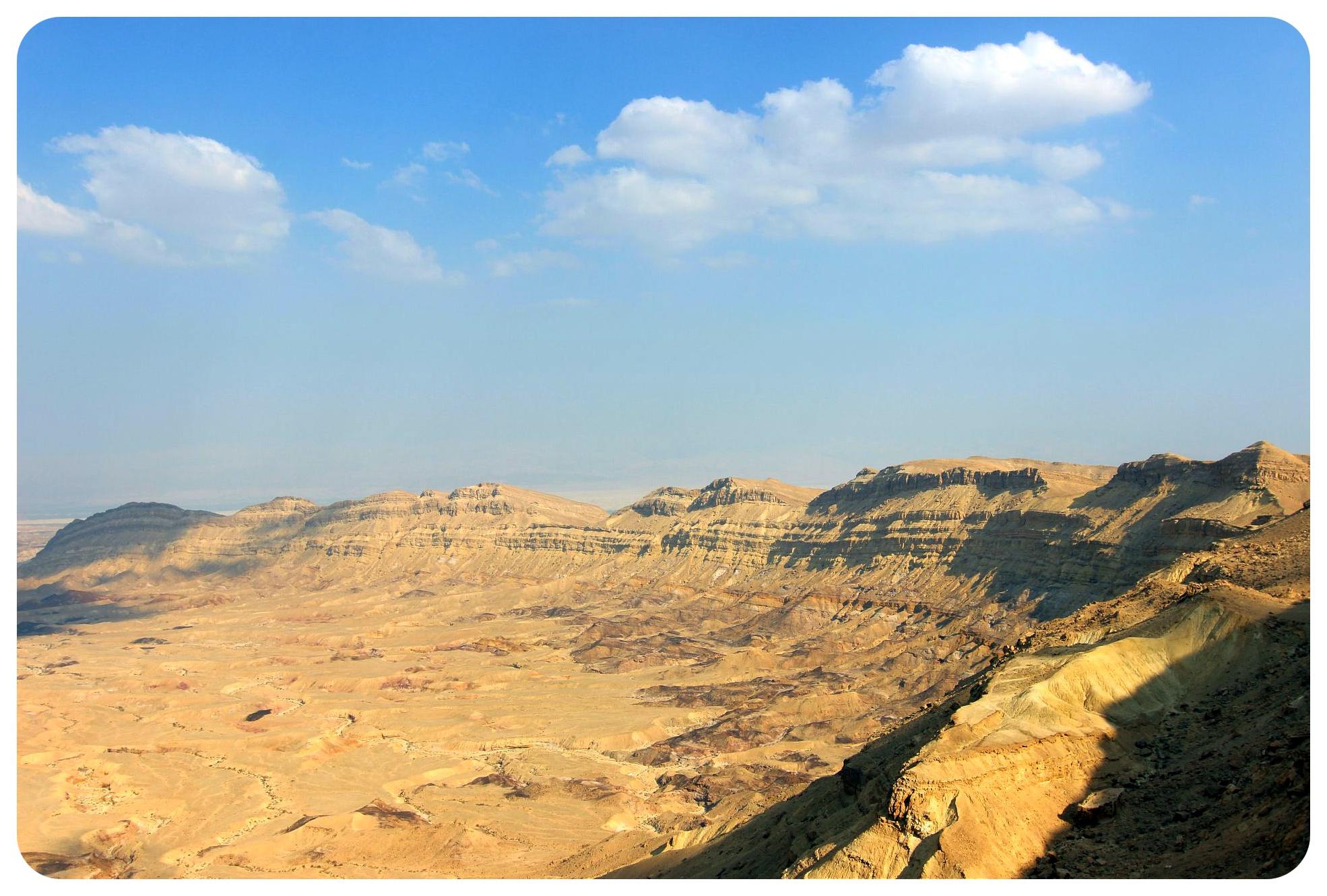 makhtesh katan crater israel negev desert