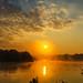 Misty autumn sunrise by SimonLea2012