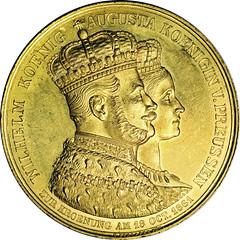 ANA_17_Wilhelm-I_coronation_gold-medal