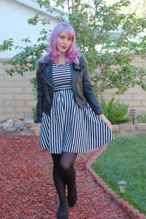 Modcloth striped dress 001