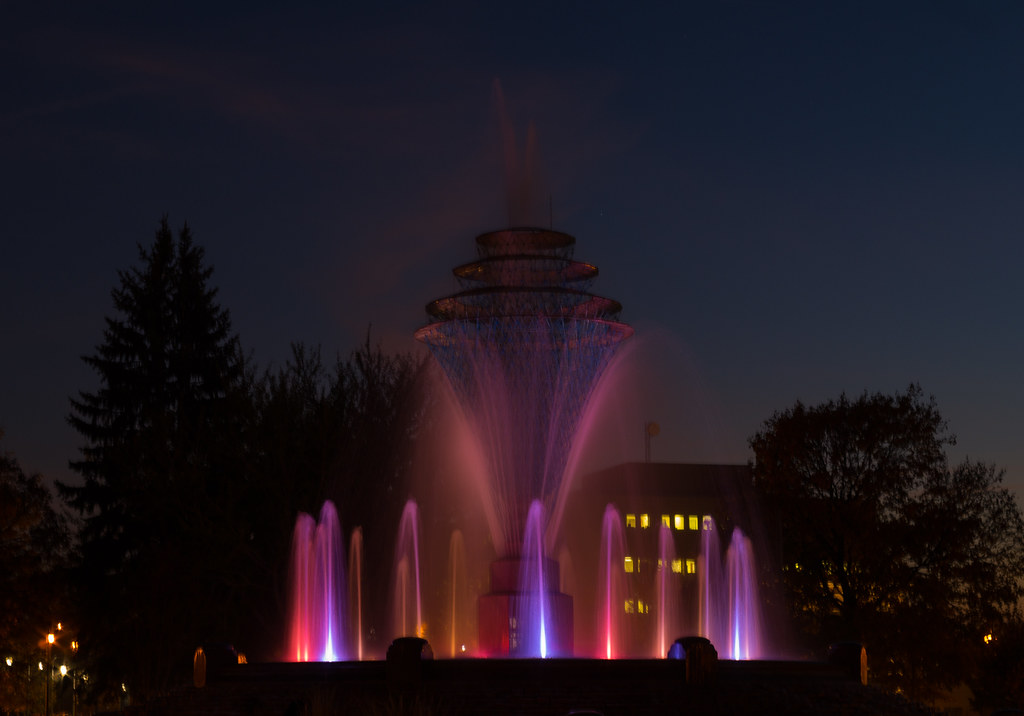 Fountain in Council Bluffs
