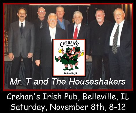 Mr. T and The Houseshakers 11-8-14