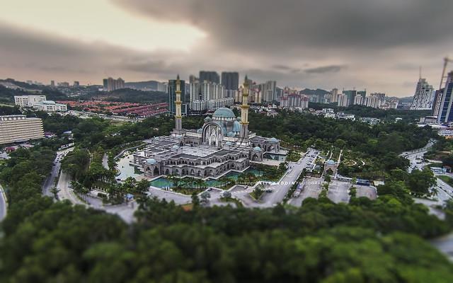 Federal Territory Mosque - Kuala Lumpur, Malaysia