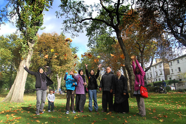 Autumn UK trip 2014 - Camden Square