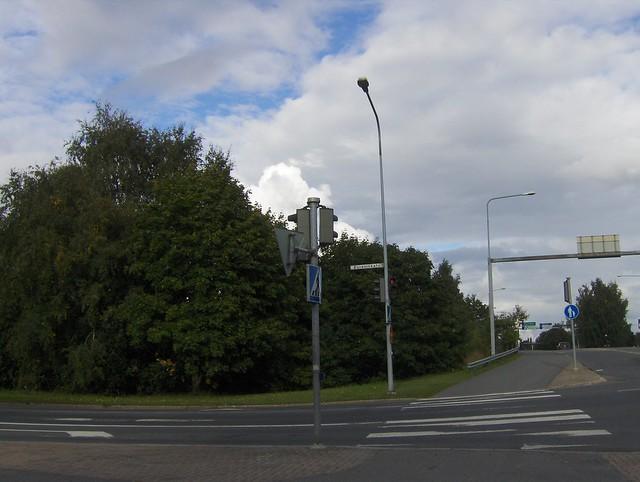 Hämeenlinnan moottoritiekate ja Goodman-kauppakeskus: Työmaan lähtötilanne 3.9.2011 - kuva 6