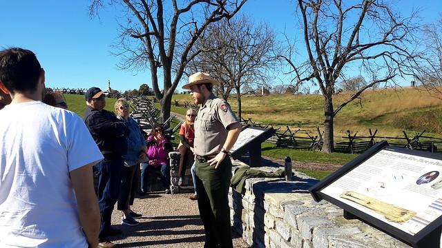 Park Ranger Dan Vermilya's ranger-led tour was outstanding!