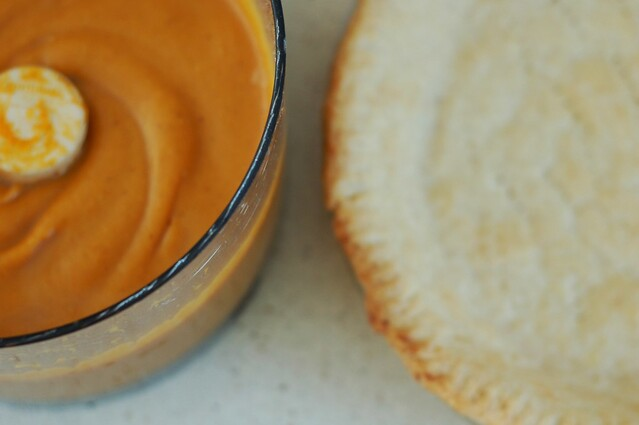 Roasted butternut squash filling and pie crust by Eve Fox, the Garden of Eating copyright 2014