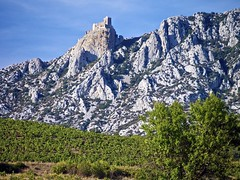 Quéribus Cathar Refuge in the Pyrenees