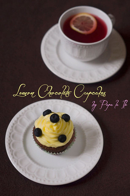 Lemon Chocolate Cupcakes (10)