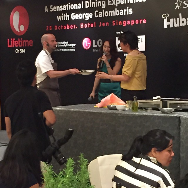 George Calombaris Singapore Hubalicious dinner