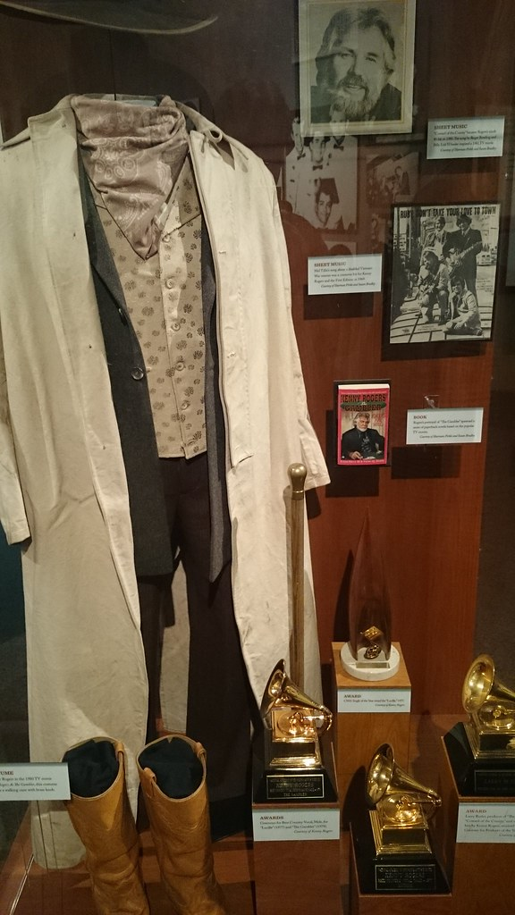 From the Kenny Rogers Exhibit