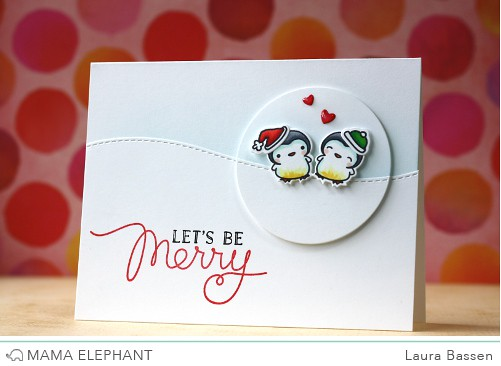 Mama Elephant~Jolly & Merry
