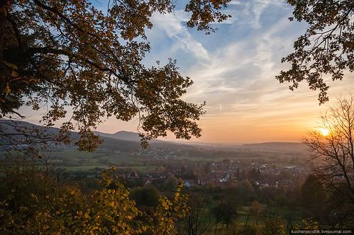 autumn nature germany landscape bayern deutschland bavaria herbst natur franconia franken landschaft oberfranken franconianswitzerland fraenkischeschweiz pretzfeld upperfranconia