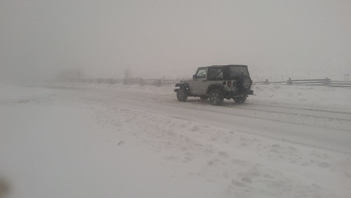 snow storm mount rogers jeep
