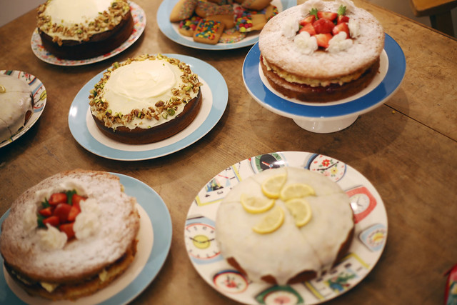 Cath Kidston Book Launch Cakes