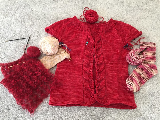 On my needles, November 2014