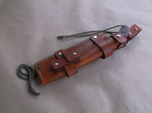 Custom Leather Sheath For The Ka Bar Johnson Adventure Potbelly