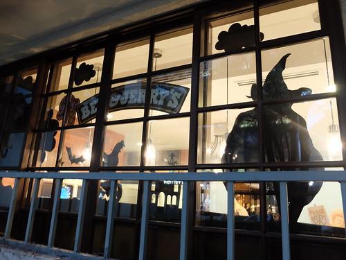 Ben & Jerry's Halloween Window