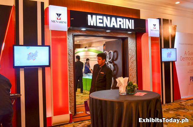Menarini Exhibit booth