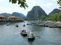 Setting Out from Tam Coc