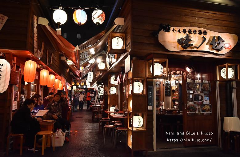 日本沖繩必吃美食國際通屋台村街05