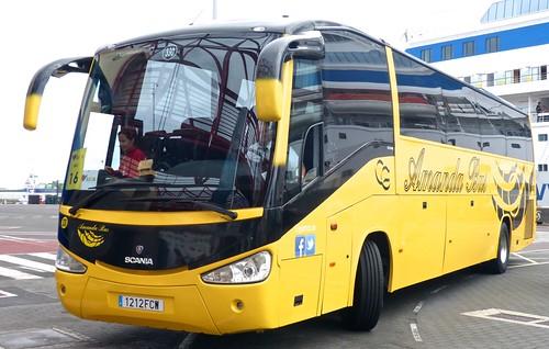 1212 FCW 'Amanda Bus' No. 330 Scania / Irizar Century on 'Dennis Basford's railsroadsrunways.blogspot.co.uk'