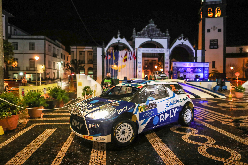 20 RODRIGUES Ruben RODRIGUES Estevao Citroen DS3R5 Action during the 2017 European Rally Championship ERC Azores Rally - Photo Jorge Cunha / DPPI