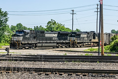 NS 9290 | GE C40-9W | CN Memphis Subdivision