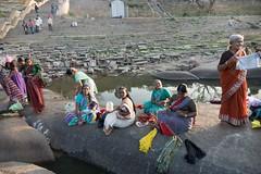 Nad brzegiem rzeki Tungabhadra
