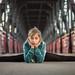 Dancer on a bridge by Nathalie Le Bris