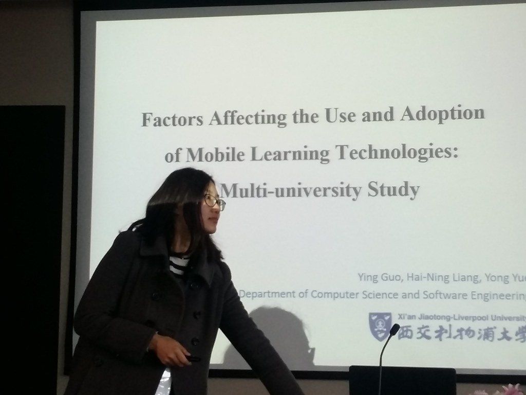 Ying Guo on factors affecting the use and adoption of mobile technologies