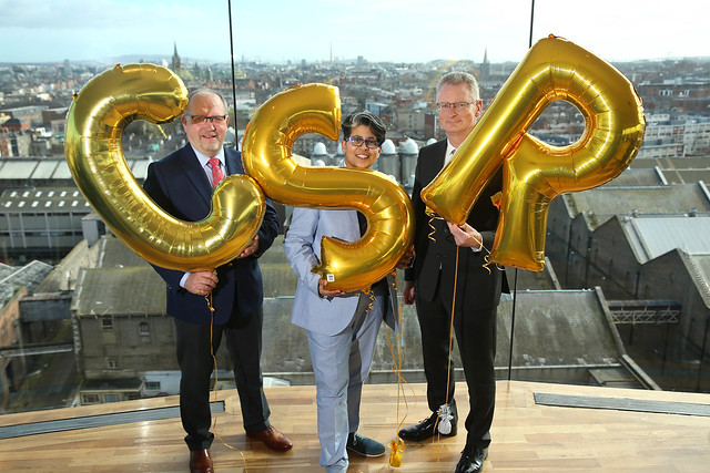 CSR Launch (2) - Tadhg Lucey, Dil Wickremasinghe, Ian Talbot