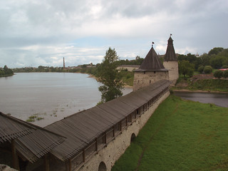 Pskov, Russia, historical city center