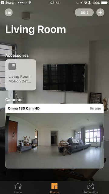 Home iOS App - Room View