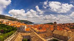 Medieval Dubrovnik Rooftop Panorama
