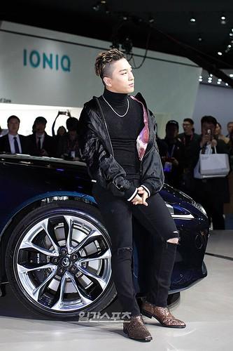 Taeyang Lexus Seoul Motor Show So Goode 2017-03-30 (12)