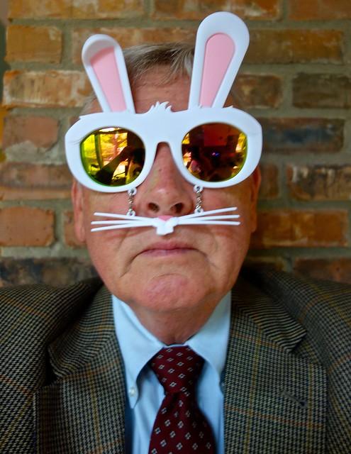 Self-Portrait Easter Bunny Style, Sony DSC-RX100, Sony 28-100mm F1.8-4.9