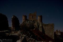 Rocca Calascio, night & day (Gran Sasso)