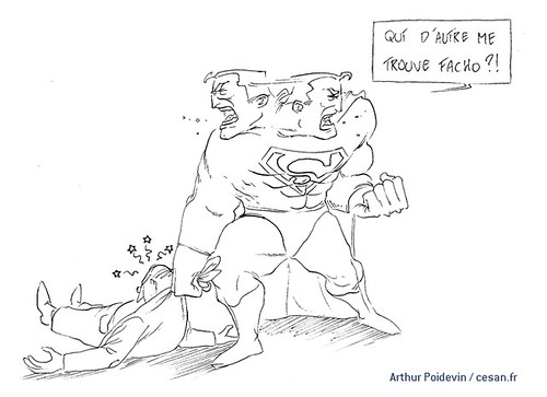 Superman, homme de fer et fasciste en puissance, par Arthur Poidevin