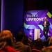 Nick Hugh on stage at Yahoo Upfronts