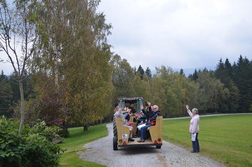 Traktorgaudi am Ponyhof Ratten