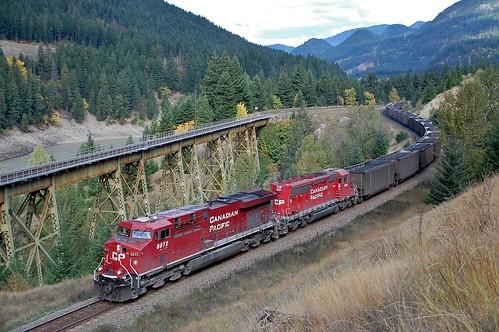 cn diesel fraser cp ashcroft locos 5018 bostonbar 8872