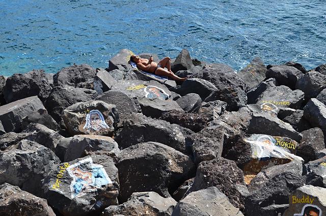 Sunbathing, Tenerife