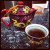 Gorgeous tea set brought back from China by @_sophiahe mother.  So sweet!